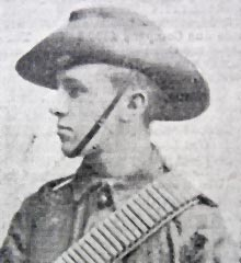 Private Robert King Holmes Burgess